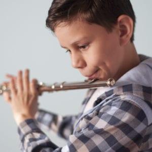 Aula de Flauta Transversal Criança 03