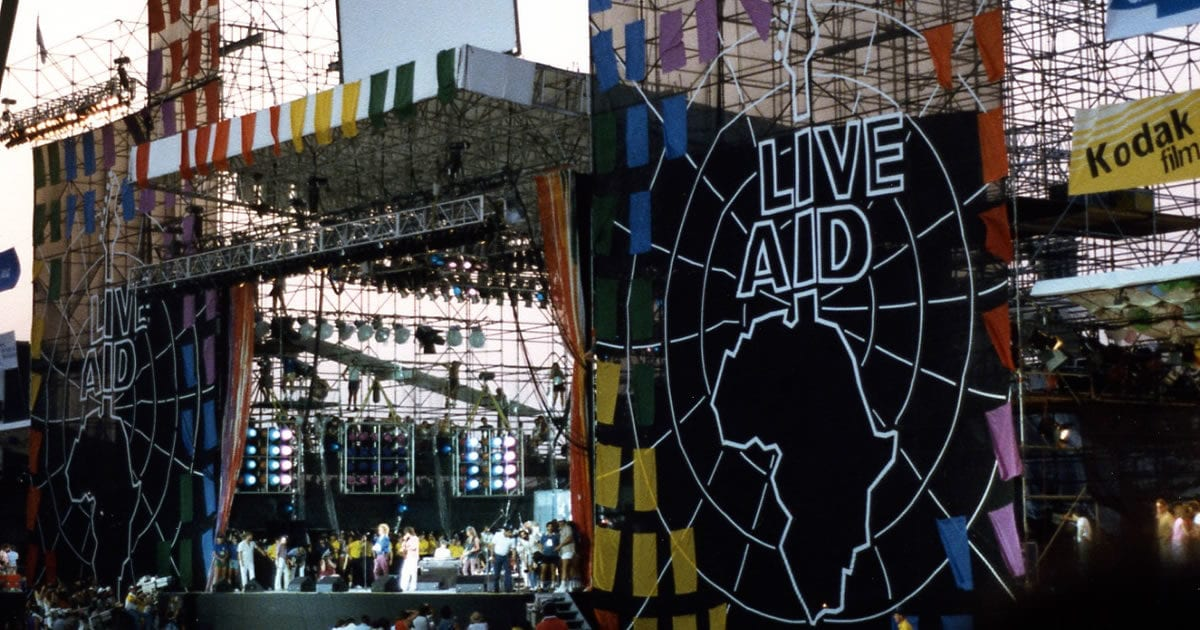Dia Mundial do Rock - Live Aid - Ritmo e Som
