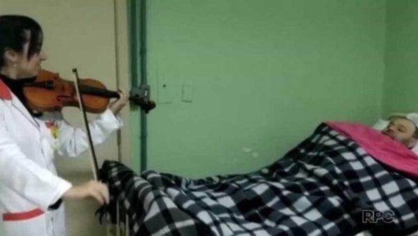 Música acorda homem em coma em Curitiba