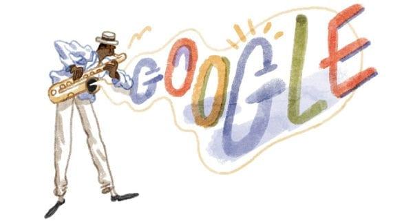Pixinguinha 117° aniversário no Google doodle