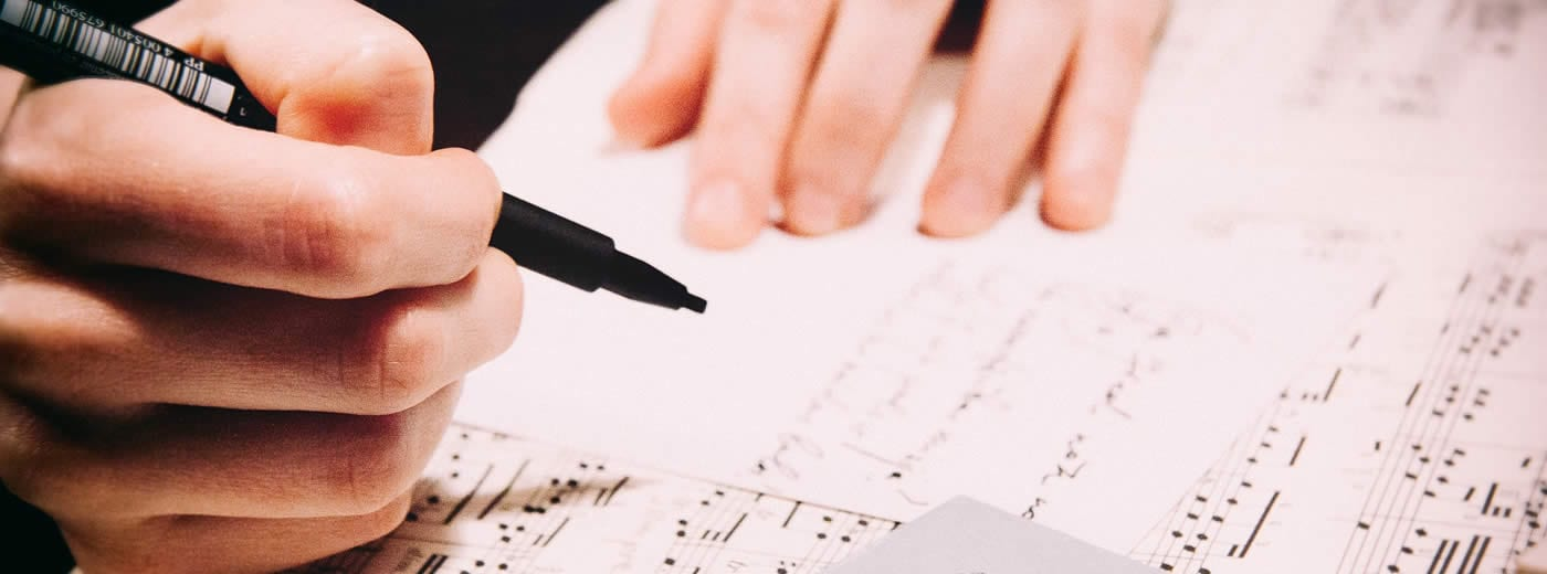 Slider Cursinho Preparatorio Vestibular de Musica Ritmo e Som